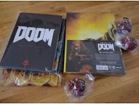 Brand new limited edition doom game collectibles