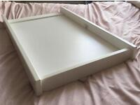 Over cot baby changing table