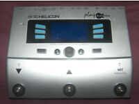 TC-Helicon / TC Helicon Play Electric Vocal and Guitar Multi-FX Processor , Vocalist.