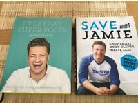 Jamie Oliver Every day super food and Save with Jamie