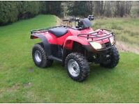 Honda quad 250 fourtrax 2wd lights brakes
