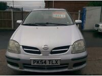 NISSAN TINO SE 1.8 PETROL NICE AND CLEAN 12 MONTHS MOT ***Reduce price***