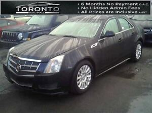2009 Cadillac CTS 3.0L+Panoramic roof+Leather+Bose sound+Vision
