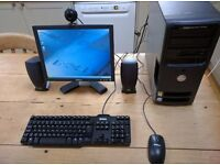 Dell Dimension 3100 Full Set up