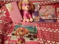 Paw Patrol New bedding set, book and Teddy