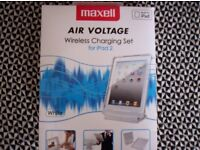 Maxell air voltage wireless charging set