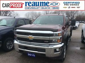 2015 Chevrolet SILVERADO 2500HD LTZ Diesel 4x4 Leather Double Ca