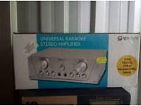 Karaoke stereo amplifier