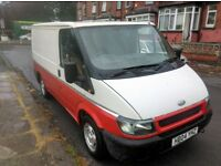 2004 Fort Transit Van with MOT