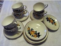 Tea Set - Fine English Bone China 22ct Gold - Collection Only - Cheadle