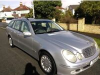 2004 Mercedes Benz E Class 320 CDI Leather seats,SERVICE HISTORY, MOT, TAXed and Insured, DRIVE AWAY