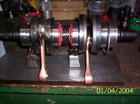 crankshaft skidoo 800 crankshaft rebuilt skidoo rt1000 parts