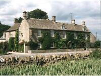 chef de partie & front of house (couple)- Live In - Cotswolds