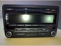 VW RCD 310 Radio/CD - Golf, Polo, Touran, Passat, T5
