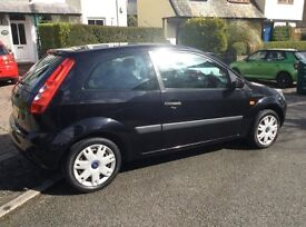 Ford Fiesta 1.2 2007 3 door hatchback in black metallic One owner from new.