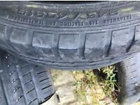 245/40/19 GOODYEAR EAGLE TYRE WITH 4MM TREAD ONLY £30!