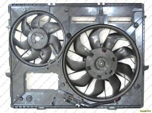 Cooling Fan Assembly 4.2L/5.0L Without Towing Volkswagen Touareg 2008-2009