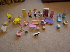 Wooden dolls house furniture - Big Jigs
