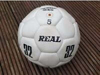 Genuine signed Leeds United Football from 1977/1978