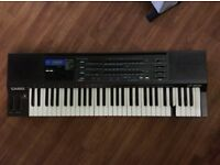 CASIO HT-3000 - 1980's synth, ANALOG filter/chorus. FM-like. RARE find, ht700 ht6000