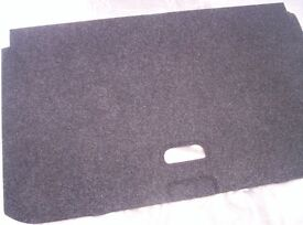 vauxhall corsa d rear dummy parcel shelf + boot liner