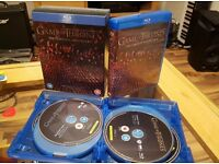 Game of Thrones Seasons 1-4 Blu-Ray, Excellent Condition, watched once per episode