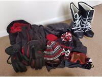 Men's ski clothes set for sale