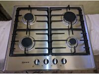 NEFF Gas Hob - Stainless Steel (Model T22S36N0GB) 4 Burners