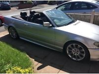 Convertible BMW 320ci Sport