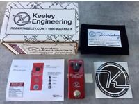 Keeley Red Dirt Mini Overdrive - HIGH QUALITY DRIVE PEDAL!!!