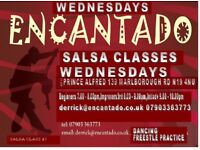 Salsa Night With Encantado