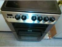 Zanussi Electric cooker with 4 Hobs and Grill