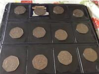Collection of 50p's