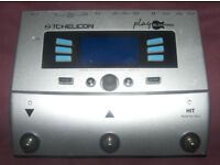 TC-Helicon / TC Helicon Play Electric Vocal and Guitar Multi-FX Processor , Vocalist