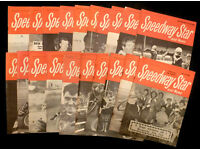 20 Speedway Star & News Magazines 1960's (Can Post)