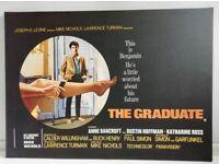 RARE The Graduate Canvas Wall Art Framed Print by The Art Group London 80x57x2cm