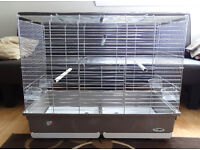 EXTRA LARGE BIRD CAGE Opening top with perch. Brand new.
