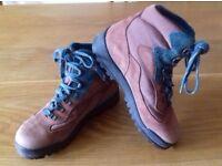 Walking boots, women's size 6