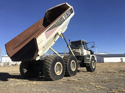 Terex Ta30 Off Road Dump Truck Capacity 50000 Lbs