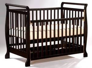 Brand New Wooden Baby Cot Crib with mattress Toddler bed