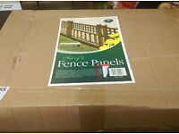 New in box fench panels