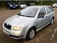 *** BARGAIN *** 2003 SKODA FABIA 1.2, MANUAL, ESTATE, 12 MONTH MOT, LOW MILES, GOOD RUNNER, CHEAP