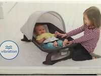 Joie Customclick rocker for use on or off travel cot, like new/with box/used once
