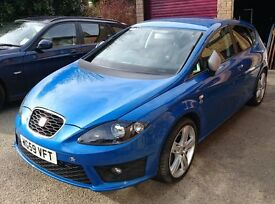 "Seat Leon FR 2.0 TDi 170 CR 2010. One owner, Technology & Convenience Packs, 18"" Alloys, Sat Nav"