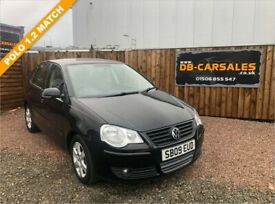 image for 2009 09 VOLKSWAGEN POLO 1.2 MATCH 5d 59 BHP***GUARANTEED FINANCE***PART EX WELCOME***