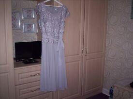 Dress ( mother of the groom ) & Fascinator
