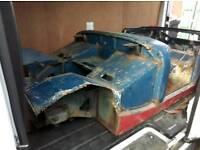 1967 mg midget Austin healey sprite body shell
