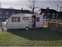 Eldiss Vogue 1997 5 Berth Caravan