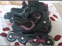 Inline skates size 38 and 40
