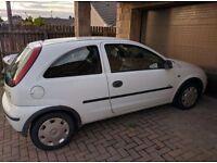 Vauxhall Corsa 05 plate 1.2 Dual Fuel petrol/lpg